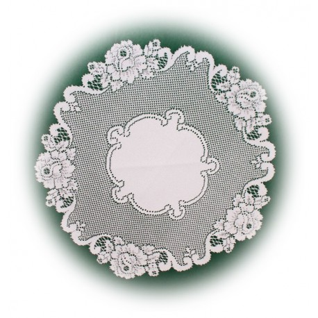 Doilies Vintage Rose White 20 R Heritage Lace