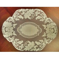 Placemats Windsor14x20 Ecru Set Of (4) Heritage Lace