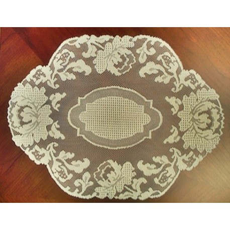 Placemats Windsor 14x20 Ecru Set Of (4) Heritage Lace