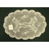 Placemat Floret 14x20 Ecru Set Of (4) Heritage Lace
