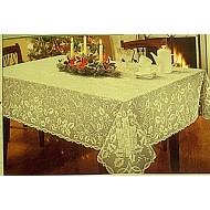 Tablecloth Holly Glow 52x70 Ivory Oxford House