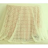 Tablecloth Nova 90 Inch Round Ivory Oxford House