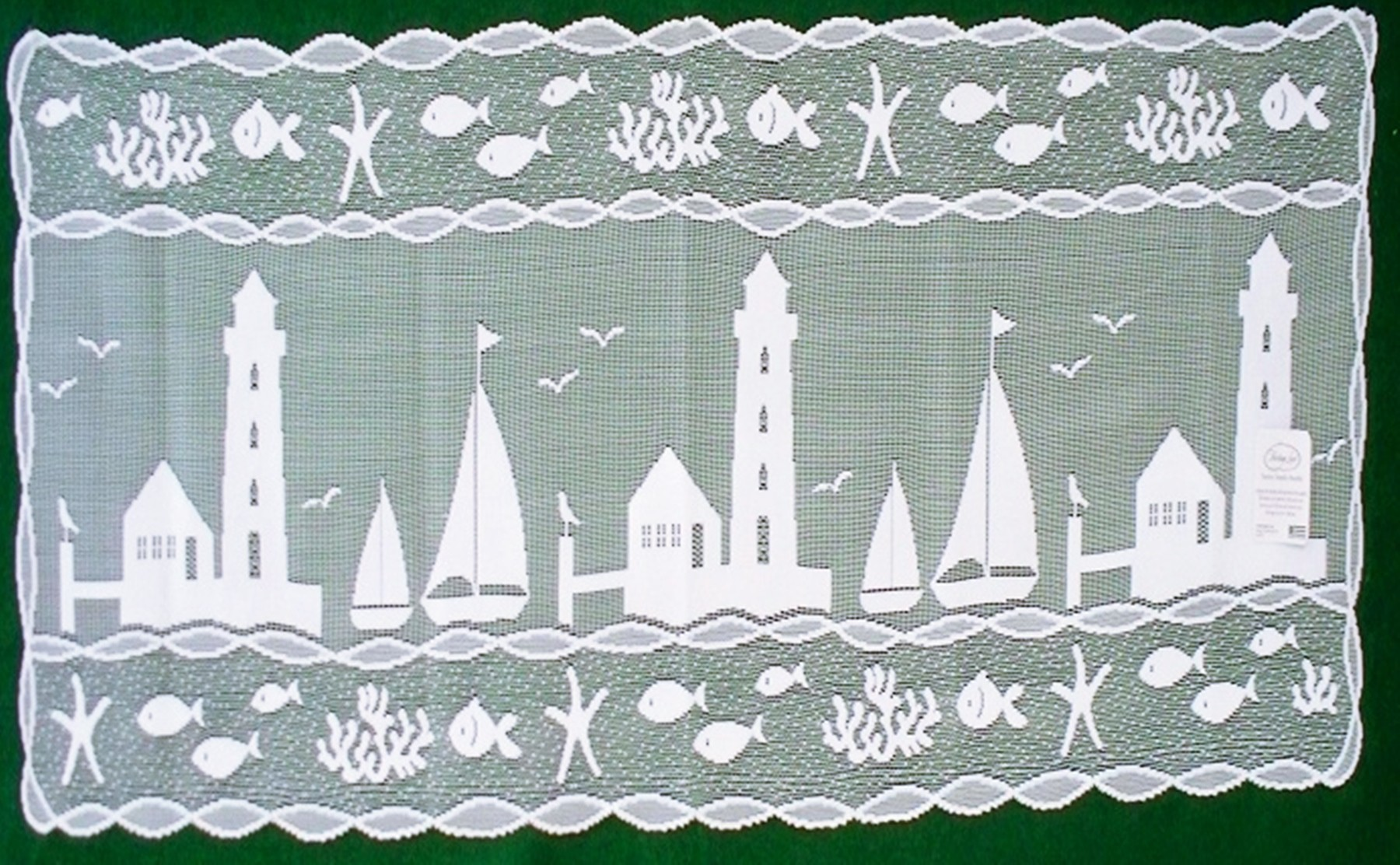19 heritage lace lighthouse curtains table topper blossom 4